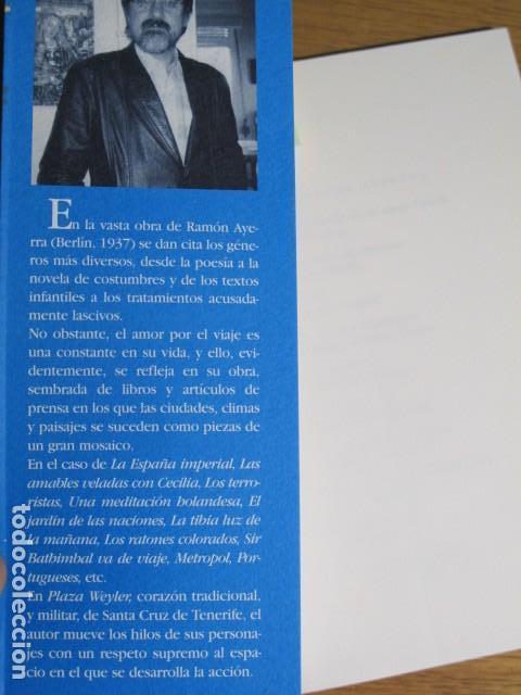Libros de segunda mano: Ramón Ayerra. Plaza Weyler (cuentos). Herga y Fierro editores - Foto 3 - 128379447