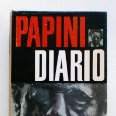 Libros de segunda mano: DIARIO.- GIOVANNI PAPINI (1964). Lote 128475915