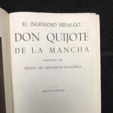 Libros de segunda mano: MIGUEL DE CERVANTES. DON QUIJOTE DE LA MANCHA. 1953. Lote 128505163