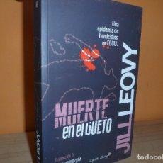 Libri di seconda mano: MUERTE EN EL GUETO / JILL LEOVY. Lote 128775803