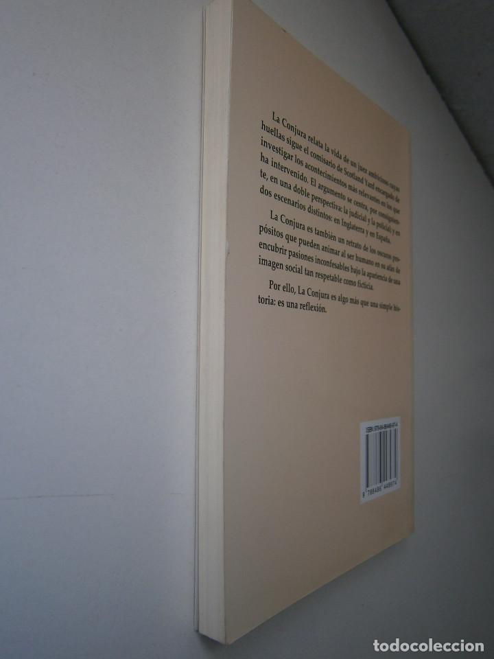 Libros de segunda mano: LA CONJURA CARMELO RIAÑO GUADALMENA 2009 - Foto 5 - 128783023
