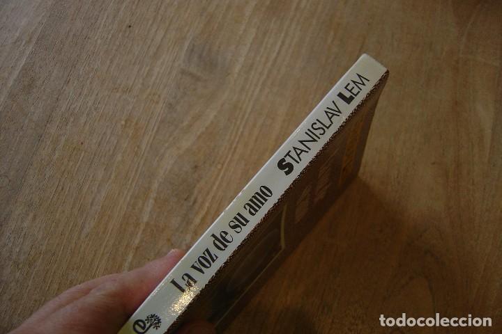 Libros de segunda mano: LA VOZ DE SU AMO. STANISLAV LEM. CLASICOS NEBULAE. EDHASA . 1A EDICIÓN 1989 - Foto 2 - 128825447