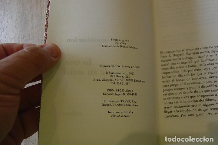 Libros de segunda mano: LA VOZ DE SU AMO. STANISLAV LEM. CLASICOS NEBULAE. EDHASA . 1A EDICIÓN 1989 - Foto 3 - 128825447