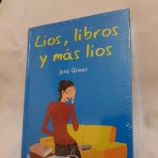 Libros de segunda mano: LÍOS, LIBROS Y MÁS LÍOS - JANE GREEN. Lote 128885935