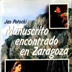 Libros de segunda mano: MANUSCRITO ENCONTRADO EN ZARAGOZA. JAN POTOCKI.. Lote 129452391