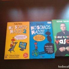 Libros de segunda mano: LIBROS DE HUMOR. Lote 129685439