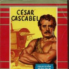 Libros de segunda mano: CÉSAR CASCABEL, POR JULIO VERNE. AÑO 1956 (13.5). Lote 130373638