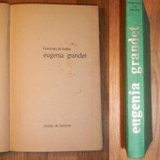 Libros de segunda mano: BALZAC, HONORATO DE. EUGENIA GRANDET. Lote 130918540