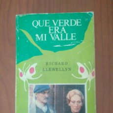 Libros de segunda mano: QUE VERDE ERA MI VALLE RICHARD LLEWELLYN 1980 POCKET EDHASA ORIGINAL. Lote 130978240
