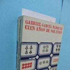 Libros de segunda mano: CIEN AÑOS DE SOLEDAD. GARCÍA MÁRQUEZ, GABRIEL. ED. SUDAMERICANA. BARCELONA 1972. Lote 131028832