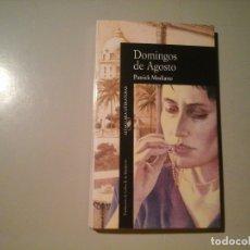 Libros de segunda mano: PATRICK MODIANO. DOMINGOS DE AGOSTO. 1ª EDICIÓN 1989. ALFAGUARA. NOVELA NEGRA FRANCESA.. Lote 131044788