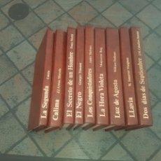 Libros de segunda mano: LOTE DE 9 LIBROS EDITORS. Lote 131092696