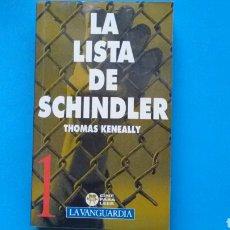 Libros de segunda mano: LA LISTA DE SCHINDLER .THOMAS KENEALLY .LA VANGUARDIA .. Lote 131094533