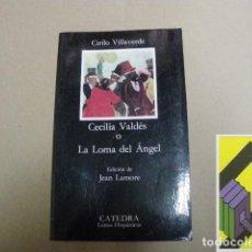 Libros de segunda mano: VILLAVERDE, CIRILO:CECILIA VALDÉS O LA LOMA DEL ÁNGEL (EDICIÓN:JEAN LAMORE). Lote 131178672