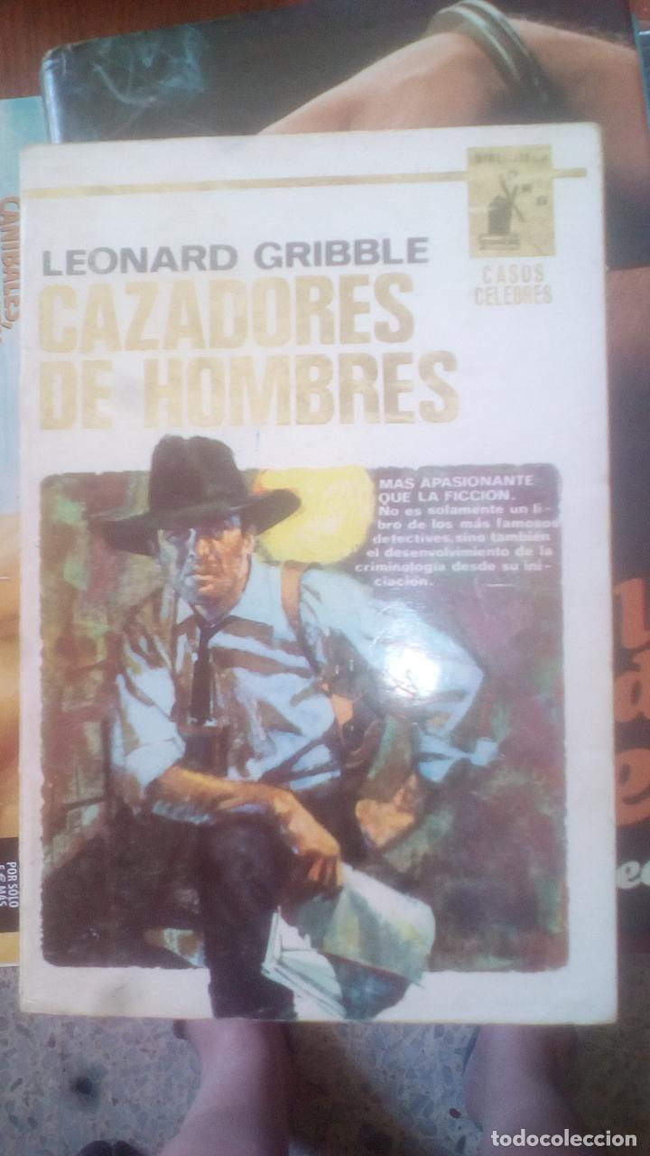 CAZADORES DE HOMBRES - LEONARD GRIBBLE (Libros de Segunda Mano (posteriores a 1936) - Literatura - Narrativa - Otros)