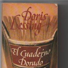 Libros de segunda mano: EL CUADERNO DORADO. Lote 131901118