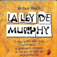 Libros de segunda mano: LA LEY DE MURPHY -- ARTHUR BLOCH -----REF-5ELLCAR. Lote 131947470