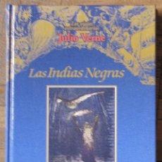 Livres d'occasion: JULIO VERNE. LAS INDIAS NEGRAS. EDICIONES RUEDA, 2000, CON ILUSTRACIONES J. FERAT. CARTONÉ.. Lote 132271610