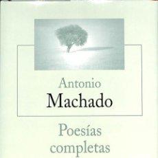 Libros de segunda mano: POESIAS COMPLETAS -- ANTONIO MACHADO --REF-5ELLCAR . Lote 132322482