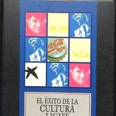 Libros de segunda mano: EL EXITO DE LA CULTURA LIGHT -- RAMÓN MASSÓ TARRUELLA --REF-5ELLCAR. Lote 132322590
