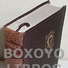 Libros de segunda mano: PUSCHKIN, ALEJANDRO SERGEI. OBRAS ESCOGIDAS. AGUILAR. COLECCIÓN JOYA. Lote 131213735