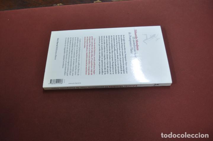 Libros de segunda mano: el asombroso viaje de pomponio flato - eduardo mendoza - NOB - Foto 2 - 132374702