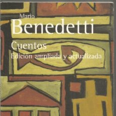 Libros de segunda mano: MARIO BENEDETTI. CUENTOS. ALIANZA. Lote 132742002