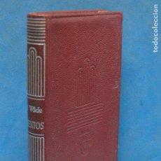 Libros de segunda mano: CUENTOS.- OSCAR WILDE (AGUILAR 1960). Lote 132914790