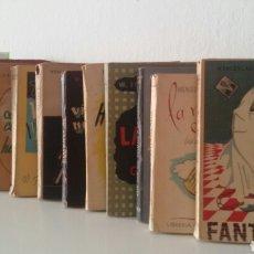 Libros de segunda mano: W. FERNÁNDEZ FLÓREZ. LOTE DE 12 NOVELAS. LIBRERÍA GENERAL, ZARAGOZA. AÑOS 40.. Lote 133081137