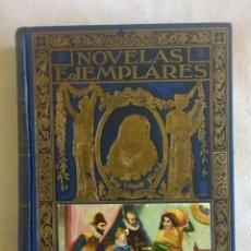 Libros de segunda mano: NOVELAS EJEMPLARES,DE MIGUEL DE CERVANTES - BIBLIOTECA HISPANIA - BARCELONA,AÑO 1948. Lote 133176878