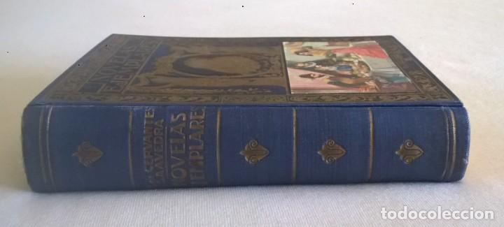Libros de segunda mano: NOVELAS EJEMPLARES,DE MIGUEL DE CERVANTES - BIBLIOTECA HISPANIA - BARCELONA,AÑO 1948 - Foto 3 - 133176878