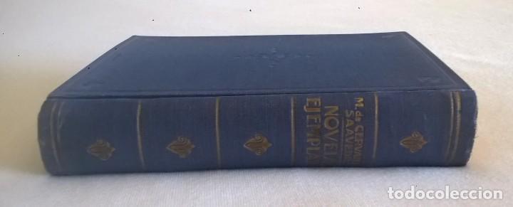 Libros de segunda mano: NOVELAS EJEMPLARES,DE MIGUEL DE CERVANTES - BIBLIOTECA HISPANIA - BARCELONA,AÑO 1948 - Foto 4 - 133176878