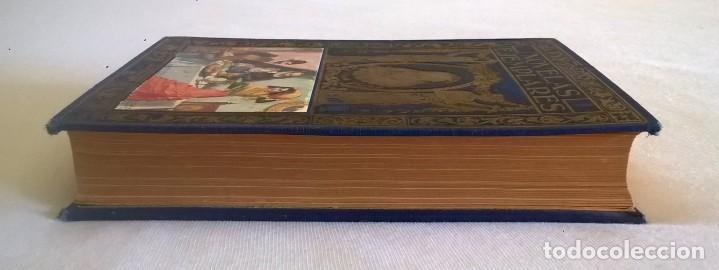 Libros de segunda mano: NOVELAS EJEMPLARES,DE MIGUEL DE CERVANTES - BIBLIOTECA HISPANIA - BARCELONA,AÑO 1948 - Foto 6 - 133176878