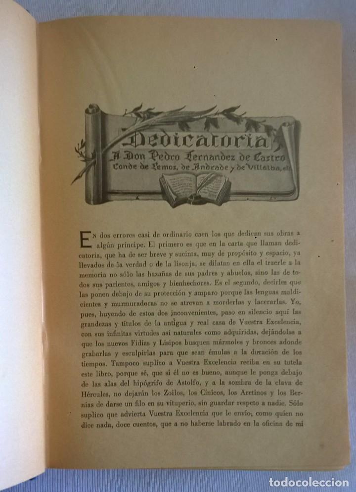 Libros de segunda mano: NOVELAS EJEMPLARES,DE MIGUEL DE CERVANTES - BIBLIOTECA HISPANIA - BARCELONA,AÑO 1948 - Foto 8 - 133176878
