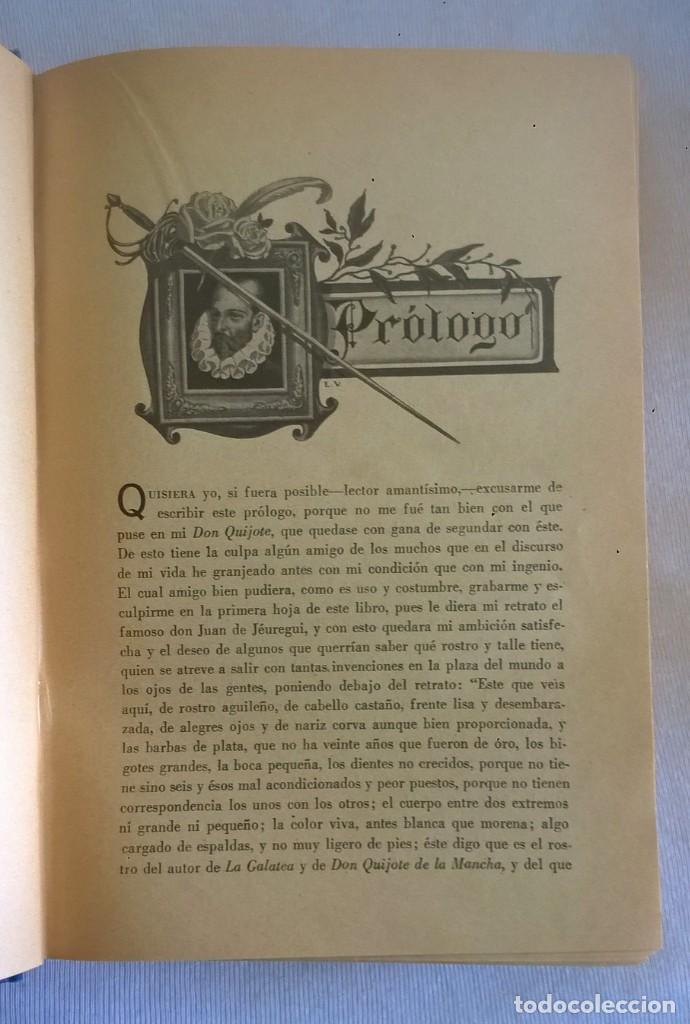 Libros de segunda mano: NOVELAS EJEMPLARES,DE MIGUEL DE CERVANTES - BIBLIOTECA HISPANIA - BARCELONA,AÑO 1948 - Foto 9 - 133176878