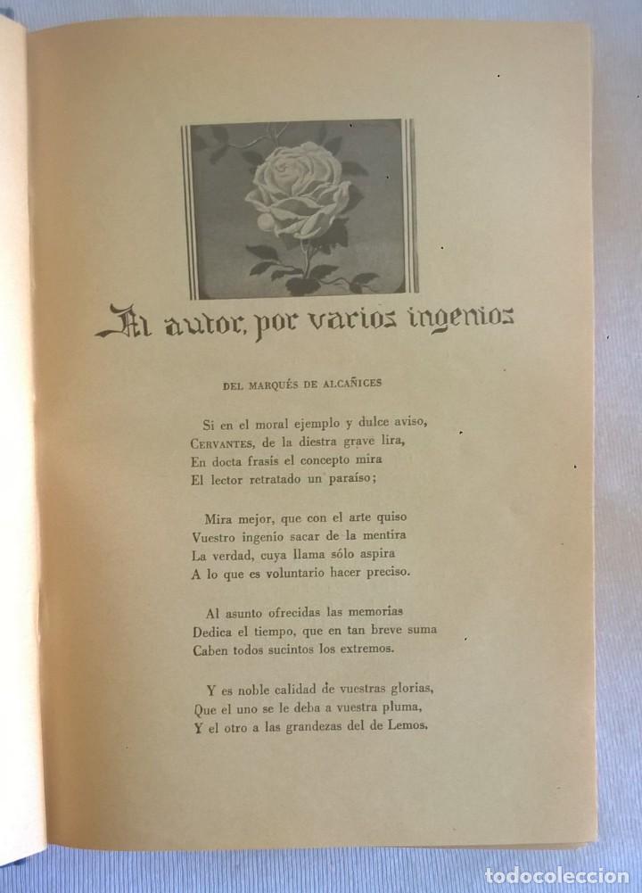 Libros de segunda mano: NOVELAS EJEMPLARES,DE MIGUEL DE CERVANTES - BIBLIOTECA HISPANIA - BARCELONA,AÑO 1948 - Foto 10 - 133176878