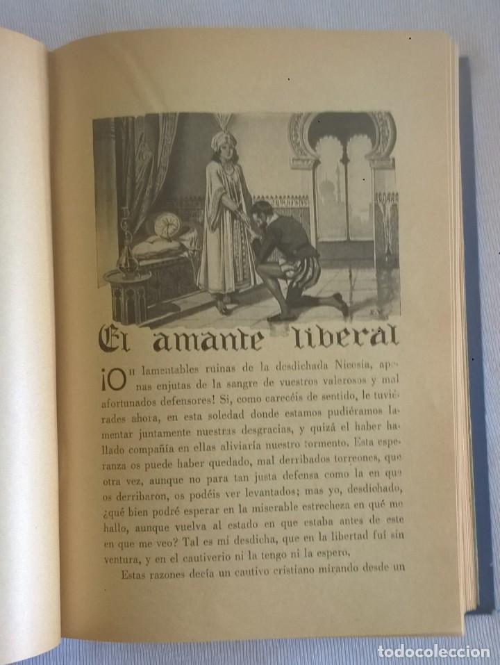 Libros de segunda mano: NOVELAS EJEMPLARES,DE MIGUEL DE CERVANTES - BIBLIOTECA HISPANIA - BARCELONA,AÑO 1948 - Foto 12 - 133176878
