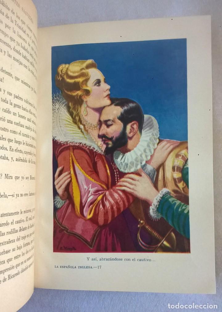 Libros de segunda mano: NOVELAS EJEMPLARES,DE MIGUEL DE CERVANTES - BIBLIOTECA HISPANIA - BARCELONA,AÑO 1948 - Foto 15 - 133176878