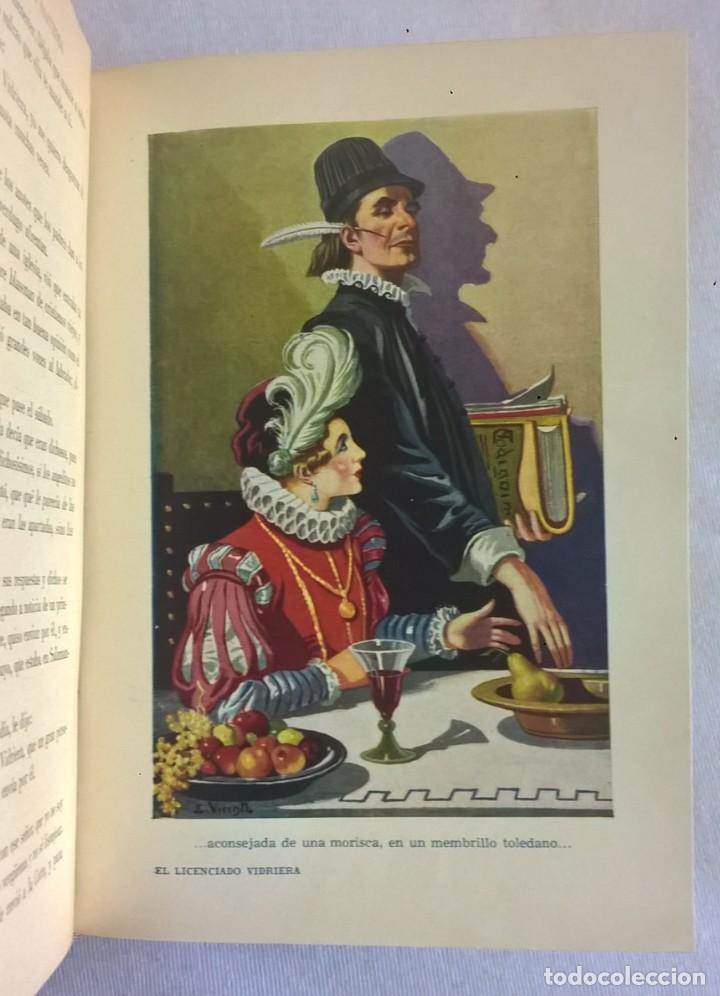 Libros de segunda mano: NOVELAS EJEMPLARES,DE MIGUEL DE CERVANTES - BIBLIOTECA HISPANIA - BARCELONA,AÑO 1948 - Foto 16 - 133176878