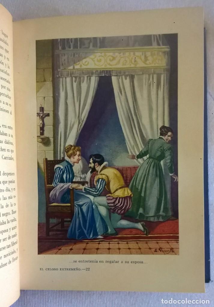 Libros de segunda mano: NOVELAS EJEMPLARES,DE MIGUEL DE CERVANTES - BIBLIOTECA HISPANIA - BARCELONA,AÑO 1948 - Foto 17 - 133176878