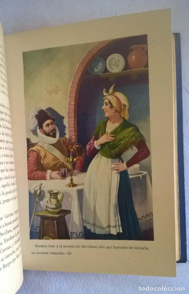 Libros de segunda mano: NOVELAS EJEMPLARES,DE MIGUEL DE CERVANTES - BIBLIOTECA HISPANIA - BARCELONA,AÑO 1948 - Foto 18 - 133176878
