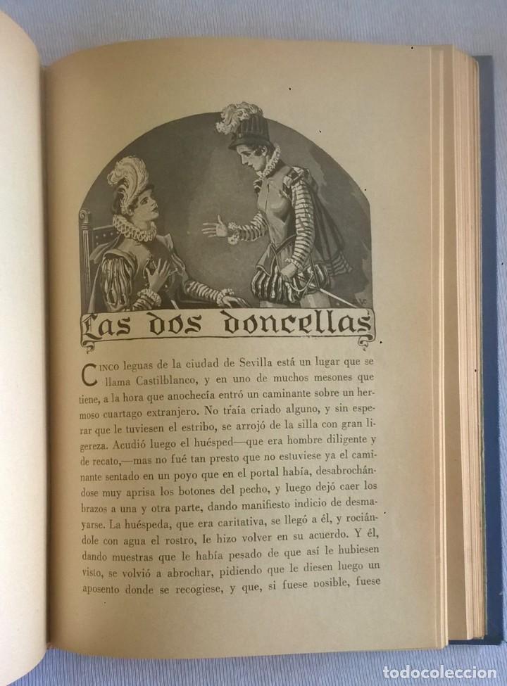 Libros de segunda mano: NOVELAS EJEMPLARES,DE MIGUEL DE CERVANTES - BIBLIOTECA HISPANIA - BARCELONA,AÑO 1948 - Foto 19 - 133176878