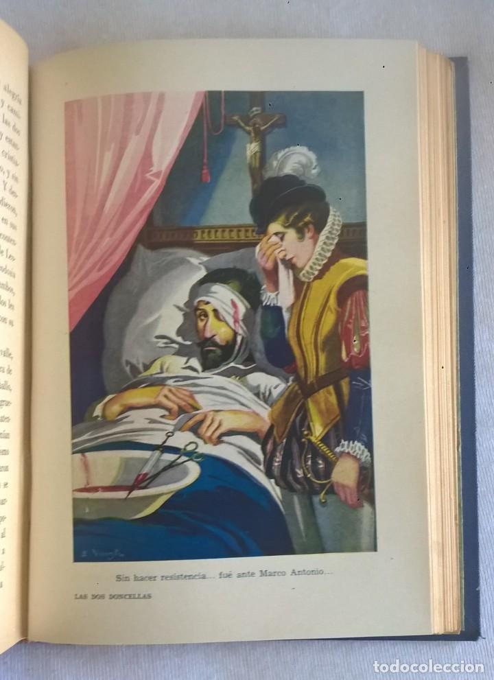 Libros de segunda mano: NOVELAS EJEMPLARES,DE MIGUEL DE CERVANTES - BIBLIOTECA HISPANIA - BARCELONA,AÑO 1948 - Foto 20 - 133176878