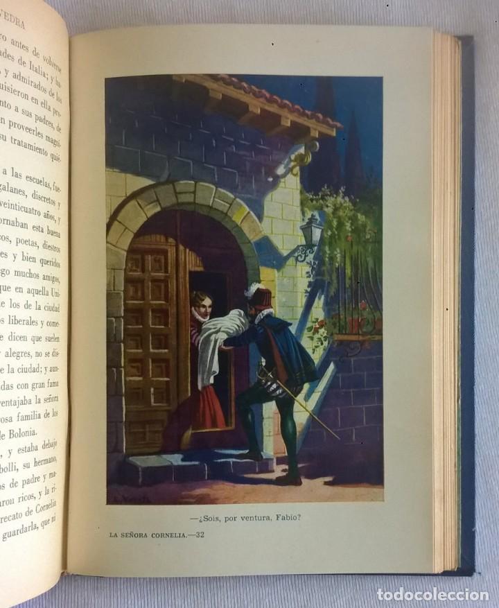 Libros de segunda mano: NOVELAS EJEMPLARES,DE MIGUEL DE CERVANTES - BIBLIOTECA HISPANIA - BARCELONA,AÑO 1948 - Foto 21 - 133176878
