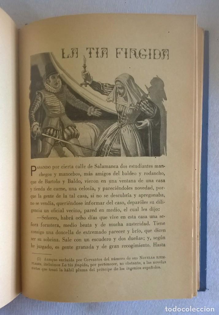 Libros de segunda mano: NOVELAS EJEMPLARES,DE MIGUEL DE CERVANTES - BIBLIOTECA HISPANIA - BARCELONA,AÑO 1948 - Foto 25 - 133176878