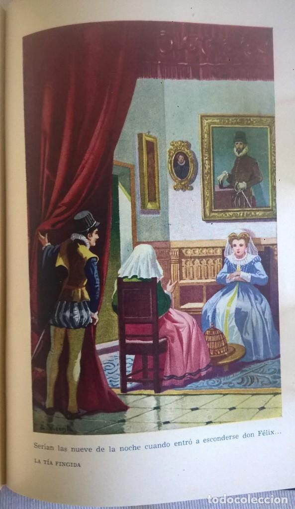 Libros de segunda mano: NOVELAS EJEMPLARES,DE MIGUEL DE CERVANTES - BIBLIOTECA HISPANIA - BARCELONA,AÑO 1948 - Foto 26 - 133176878