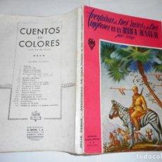 Libros de segunda mano: JULIO VERNE AVENTURAS DE TRES RUSOS Y DE TRES INGLESES EN EL ÁFRICA AUSTRAL RTY90079. Lote 133200162