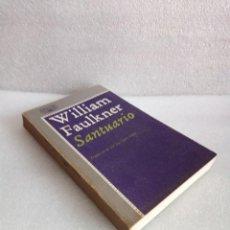 Livres d'occasion: SANTUARIO WILLIAM FAULKNER - ALFAGUARA. Lote 133228162