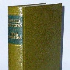 Libros de segunda mano: OBRAS COMPLETA DE ROSALÍA DE CASTRO. TOMO II.- OBRAS EN PROSA.. Lote 133596886