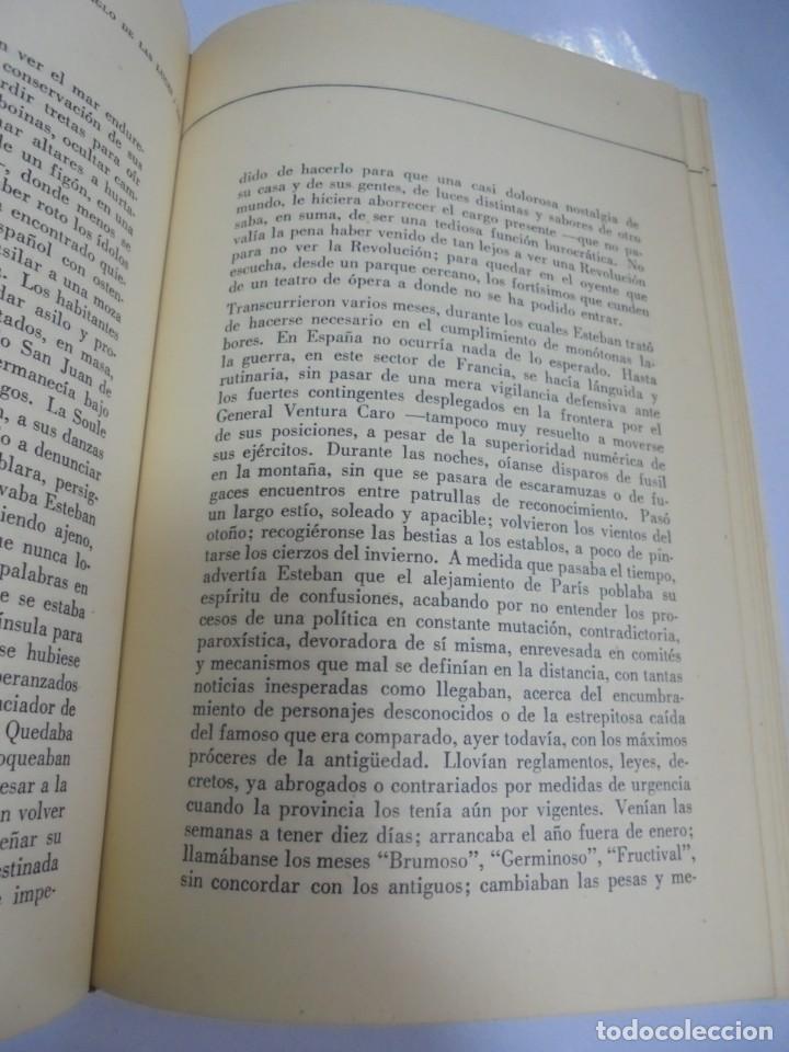 Libros de segunda mano: EL SIGLO DE LAS LUCES. ALEJO CARPENTIER. 1968. LETRAS CUBANAS. HABANA . CON FIRMA DE AUTOR. VER - Foto 5 - 133798146